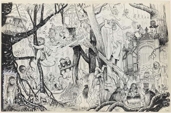 Cinquantenaires Wolinski-la-jungle